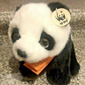 🐼3/$30 WWF World Wildlife Fund Plush Panda Bear